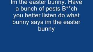 I'm the Easter Bunny With Lyrics