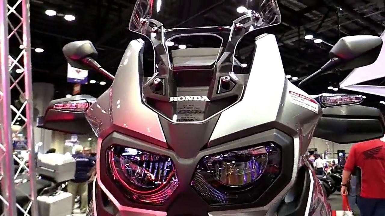 2019 honda africa twin first look specs review youtube. Black Bedroom Furniture Sets. Home Design Ideas