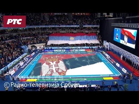 EP Vaterpolo 2016: Srbija - Rusija, Himne