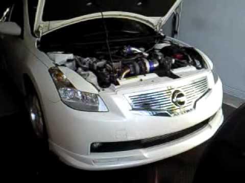 Altima Coupe White 2.5 Turbo Dyno Run (1)