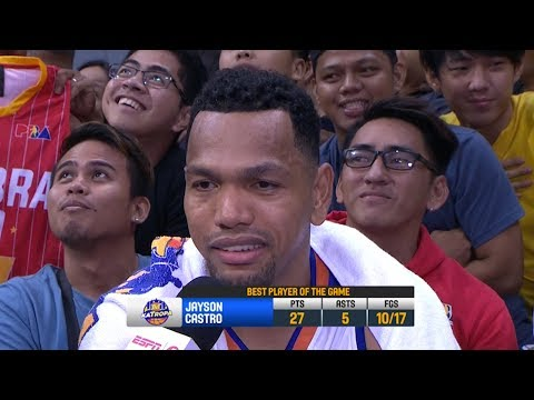Best Player: Jayson Castro | PBA Commissioner's Cup 2018