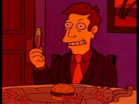 Steamed Hams But Every Time Skinner Lies He Descends 7% More into the Netherworld