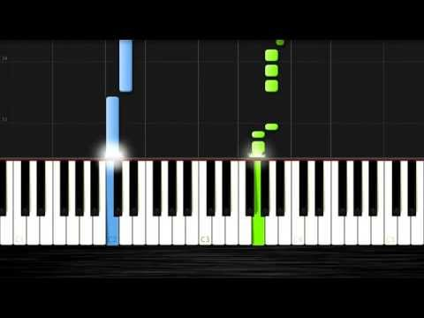 He's a Pirate - EASY Piano Tutorial (50% Speed) by PlutaX - Synthesia