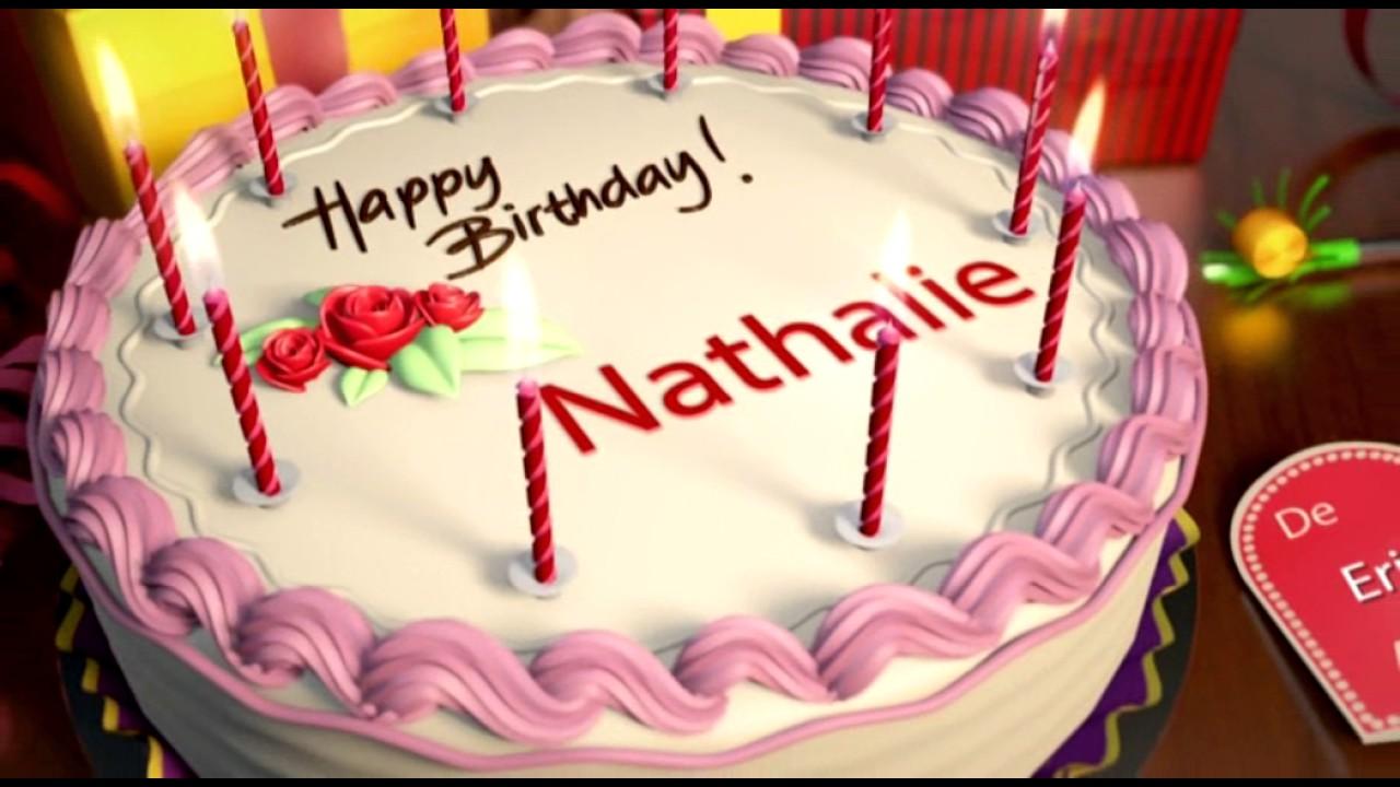 Happy Birthday Nathalie
