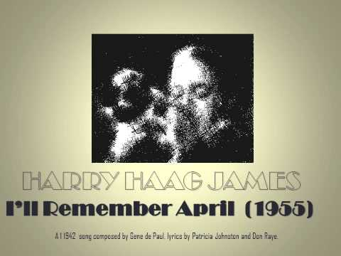 HJ Series - Harry James - I'll Remember April  (1955)