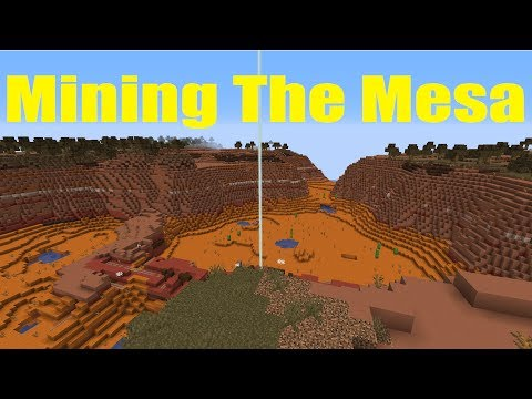 Finding And Mining The Mesa Biome - MightyHighs World Ep 33