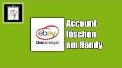 Ebay-Kleinanzeigen Account löschen (Handy/App) | So Gehts!