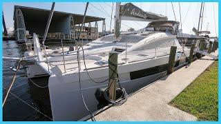 86. MILLION DOLLAR DREAM Catamaran [Full Tour] | Learning the Lines