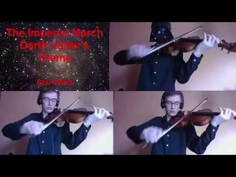 Darth Vader's Theme on violin - Star Wars soundtrack