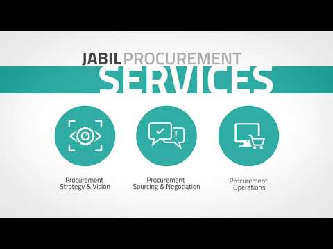 Jabil Procurement Services Overview