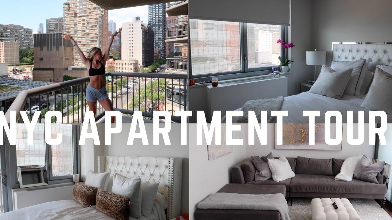 New York City Apartment Tour 600 Sq Ft 1 Bedroom Flex Youtube