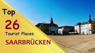 Saarbrücken (things to do - places visit) saarbrÜcken top tourist placescity in germanysaarbrücken is the capital and largest city of state saarl...