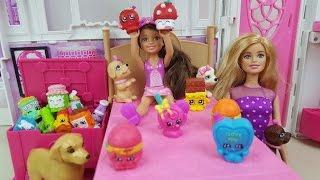 Chelsea Ganha Muitos Shopkins Novelinha Barbie Vida Nova Parte 14