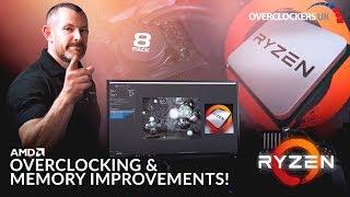 8Pack - AMD Ryzen, Overclocking & Memory improvements!
