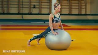 Упражнения с мячем для красоты рук,плечей и груди.Укрепление спины.Часть 2 Фитнеса с мячом/Фитнесбол