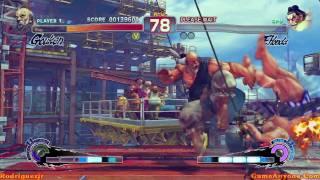 Super Street Fighter IV Arcade Mode (Gouken Pt. 1/3)