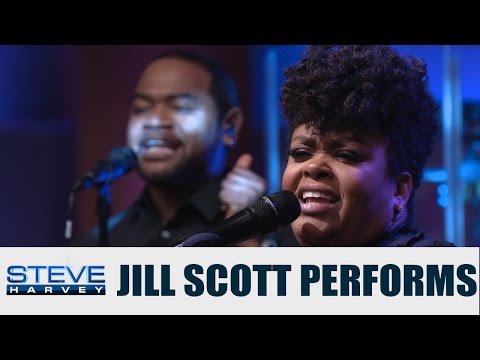 Jill Scott performs NEW single