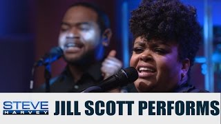 jill scott performs new single back together steve harvey