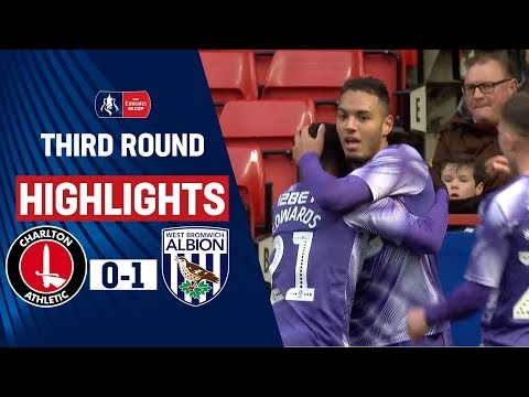 Zohore Puts Baggies Through | Charlton Athletic 0-1 West Bromwich Albion | Emirates FA Cup 19/20