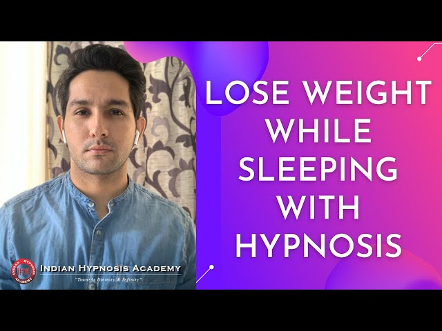 Lose Weight While Sleeping With Hypnosis   Online Hypnotherapy Session by Tarun Malik (in Hindi)