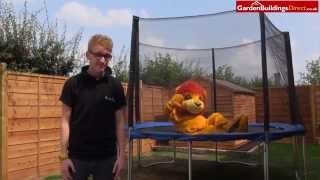 Win A Trampoline Competition From Garden Buildings Direct