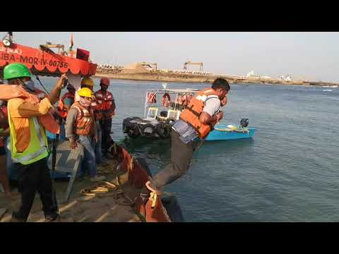 Survival at Sea training for AFCONS Jetty Project