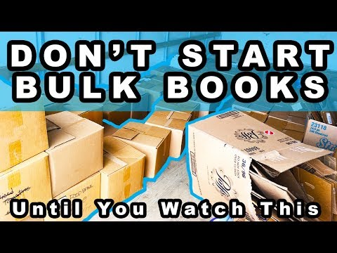 Don't Sell Books In Bulk Without Watching This First