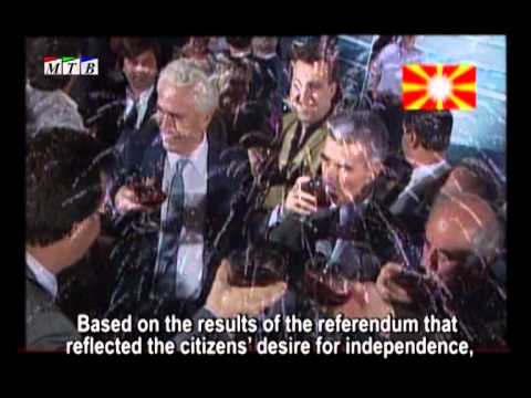 8 September 1991 -- The Independence Day of the Republic of Macedonia [EN subs]