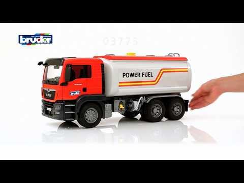 Bruder Toys MAN TGS Tanker Truck - #03775