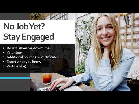 Project Manager Job Search & Interview Tips