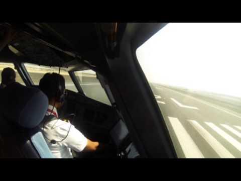 Pilot In Action - Air Arabia