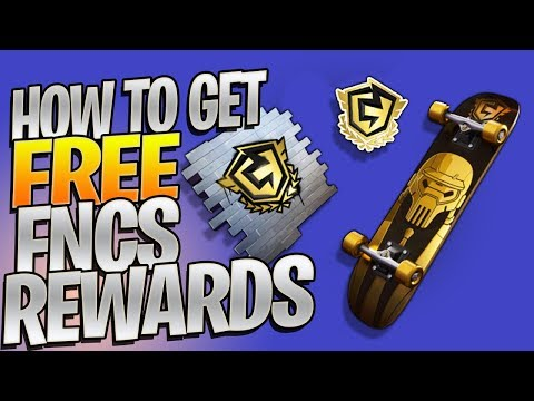 How To Get A FREE Fortnite Champion Series Backbling! (How To Link Your Twitch Account For DROPS)