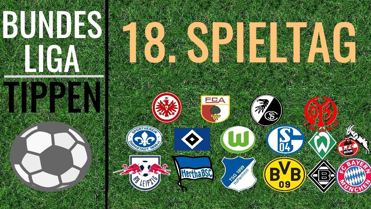 Bundesliga 18. Spieltag