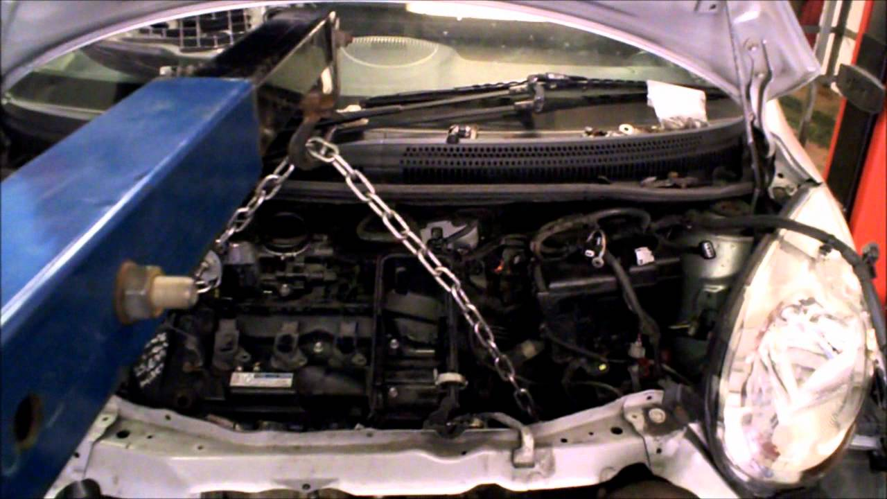 Citroen C1 Engine Replacement Youtube