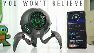 Gravastar: Crazy Robot Speaker with Bluetooth 5.0