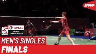 F | MS | Kento MOMOTA (JPN) [1] vs. Anders ANTONSEN (DEN) [5] | BWF 2019