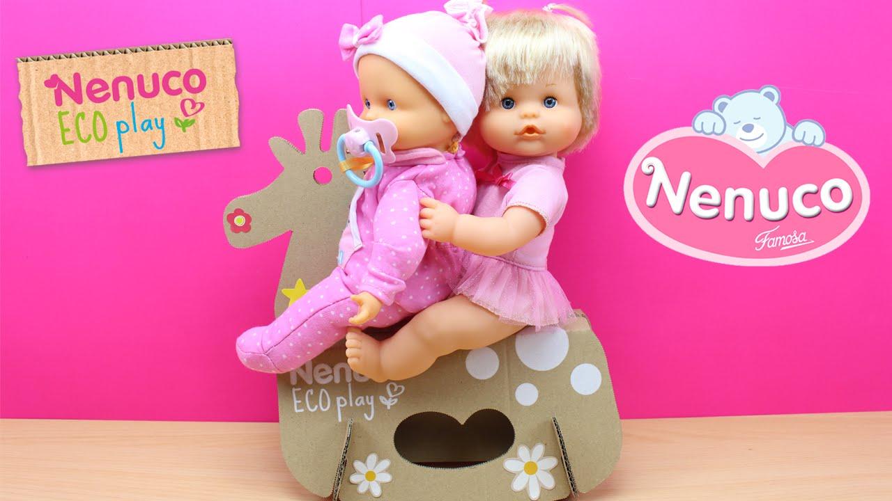 nenuco eco play juguete balancín columpio para nenuco bebé