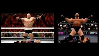 WWE 2K14 WCW/NWO: Revenge Intro Modern Remake | Side by Side Comparison!