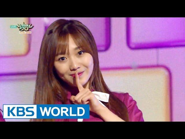 Lovelyz (러블리즈) - Ah-Choo [Music Bank HOT Stage / 2015.10.30]