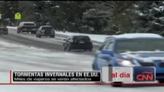 FUERTES NEVADAS Y BAJAS TEMPERATURAS EN ESTADOS UNIDOS