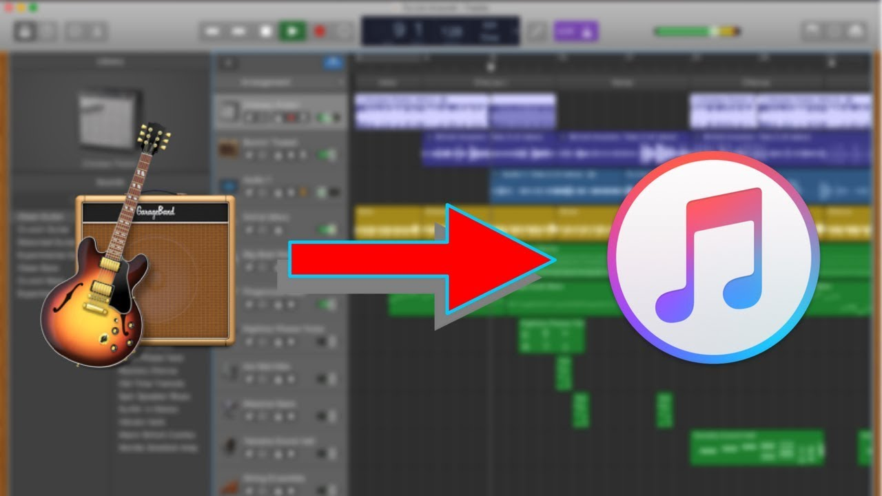 How to Export Song from GarageBand to iTunes (2018)