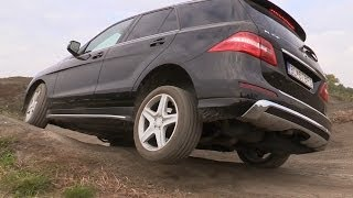 Mercedes-Benz ML - Off road test