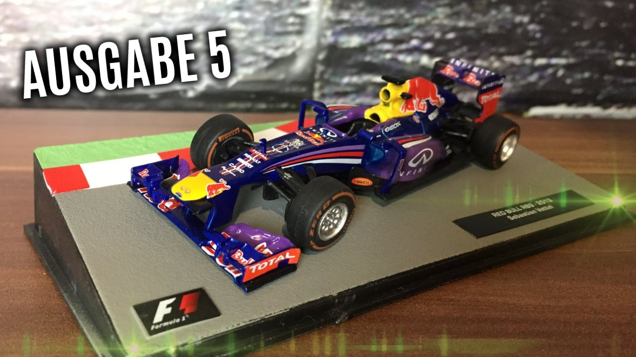 f1 formel 1 rennwagen kollektion 5 sebastian vettel. Black Bedroom Furniture Sets. Home Design Ideas