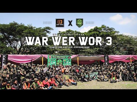 CARTENZ TACTICAL SUPPORT EVENT WAR WER WOR 3. Parongpong, Jawa Barat.