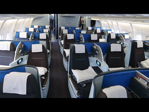 KLM A330 New Business Class From Kigali To Amsterdam (via Uganda)