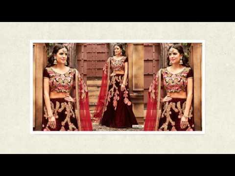 image of Bridal Lehenga Choli Saree youtube video 2