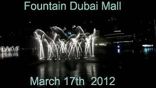 Fountain nr.1 At The Dubai Mall, March 2012