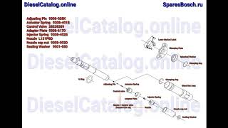 R01601Z Injector Common Rail DELPHI (FORD)