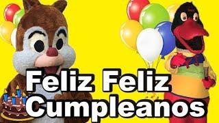 Feliz Cumpleaños(Version Cristiana)  - El Patito Juan Y Las Ardillitas Cristianas