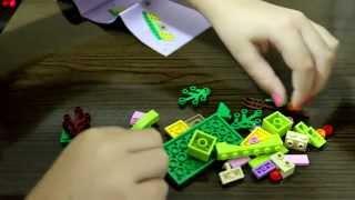 Review e montagem - O Esconderijo do Porco-Espinho (Lego Friends)